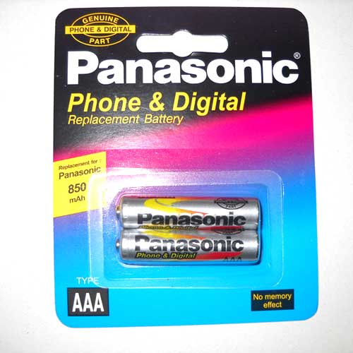 Фото нетАккумулятор R03 Panasonic 850mАh NiMH по 2шт