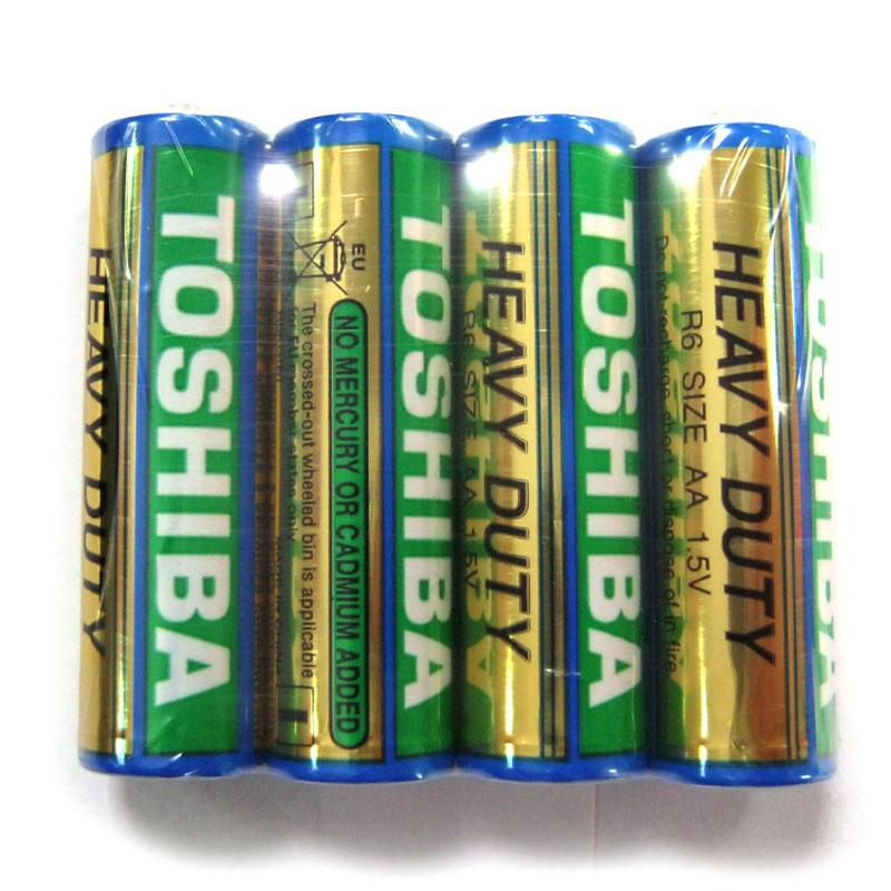Фото нетБатарейка R6 Toshiba Heavy Duty KG
