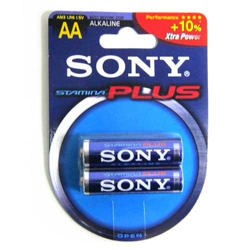 Фото нетБатарейка LR6 Sony Stamina Plus блистер по 2шт