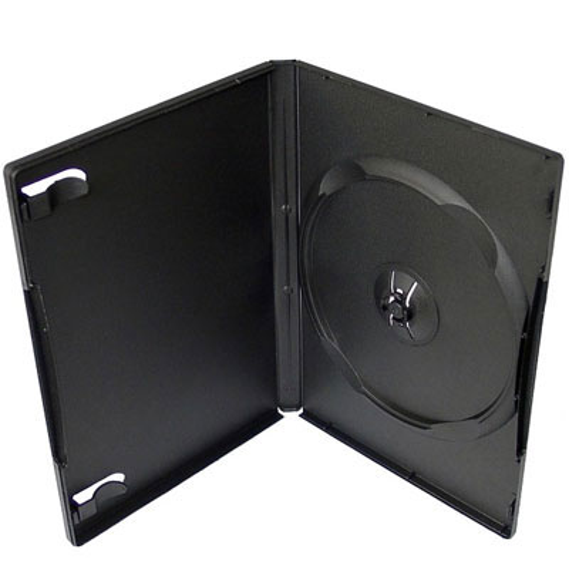 Коробка DVD-BOX 14mm черный глянцевый