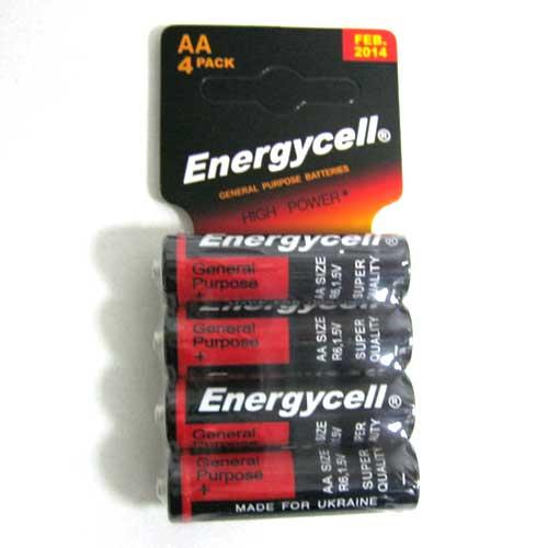 Фото нетБатарейка R6 Energycell blister