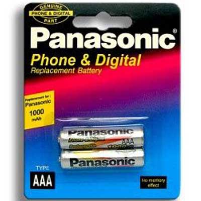 Фото нетАккумулятор R03 Panasonic 1000mАh NiMH AAA