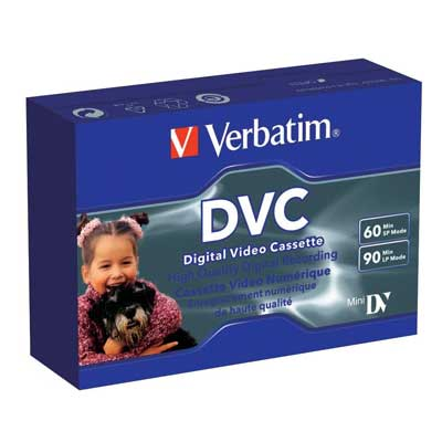 Фото нетВидеокассета мини DVC Verbatim 60мин(Супер цена!!!)