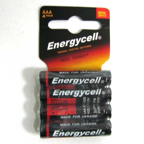 Фото нетБатарейка R03 Energycell блистер