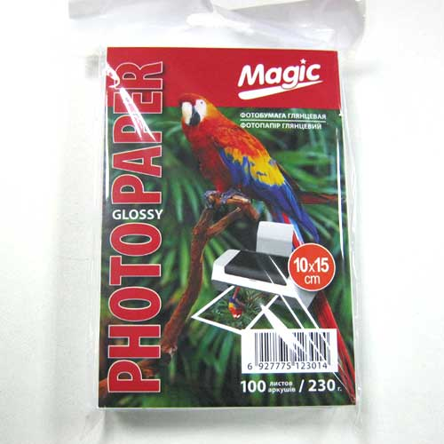 Фотобумага Magic A6 Glossy Photo Paper 100л 230г/м2 глянец