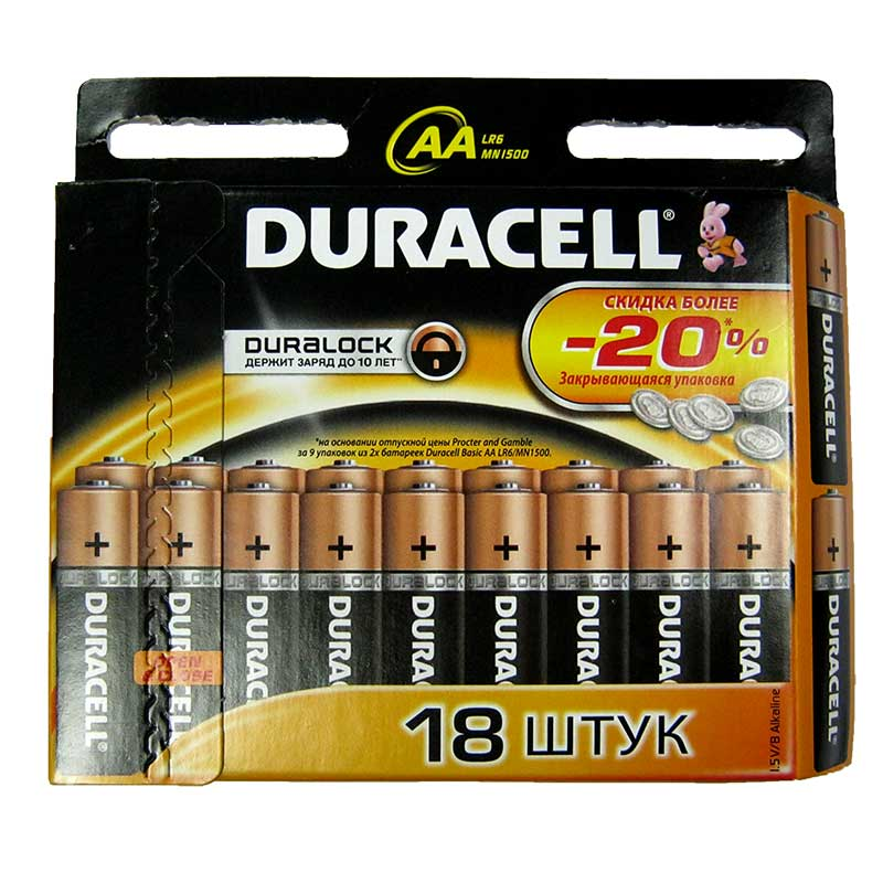 ��������� LR6 Duracell ������� ��18��(�����!!!)