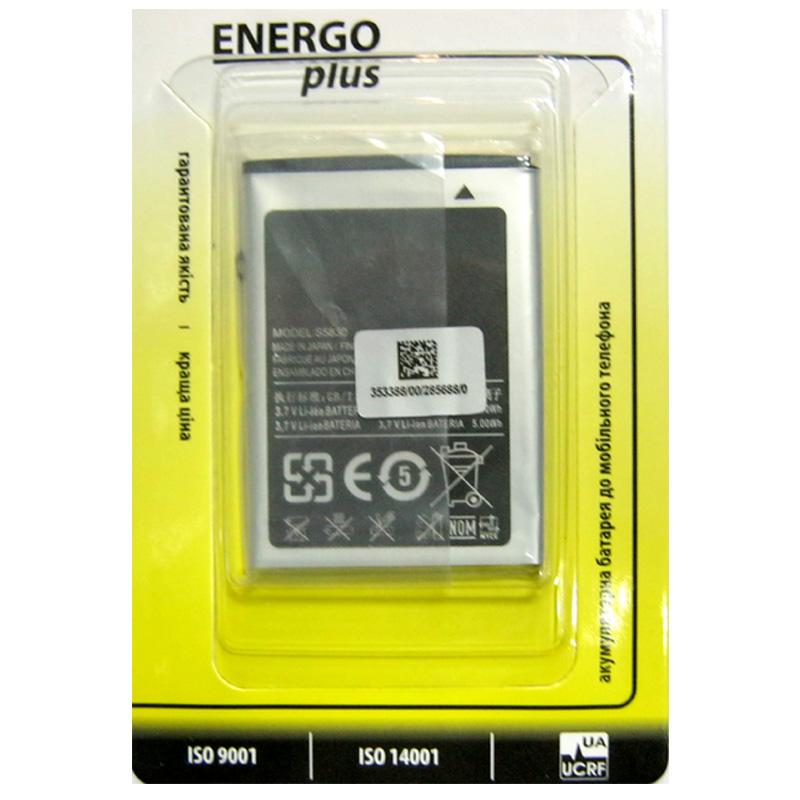 Фото нетАккумулятор для мобильного телефона Samsung S5830/S5660