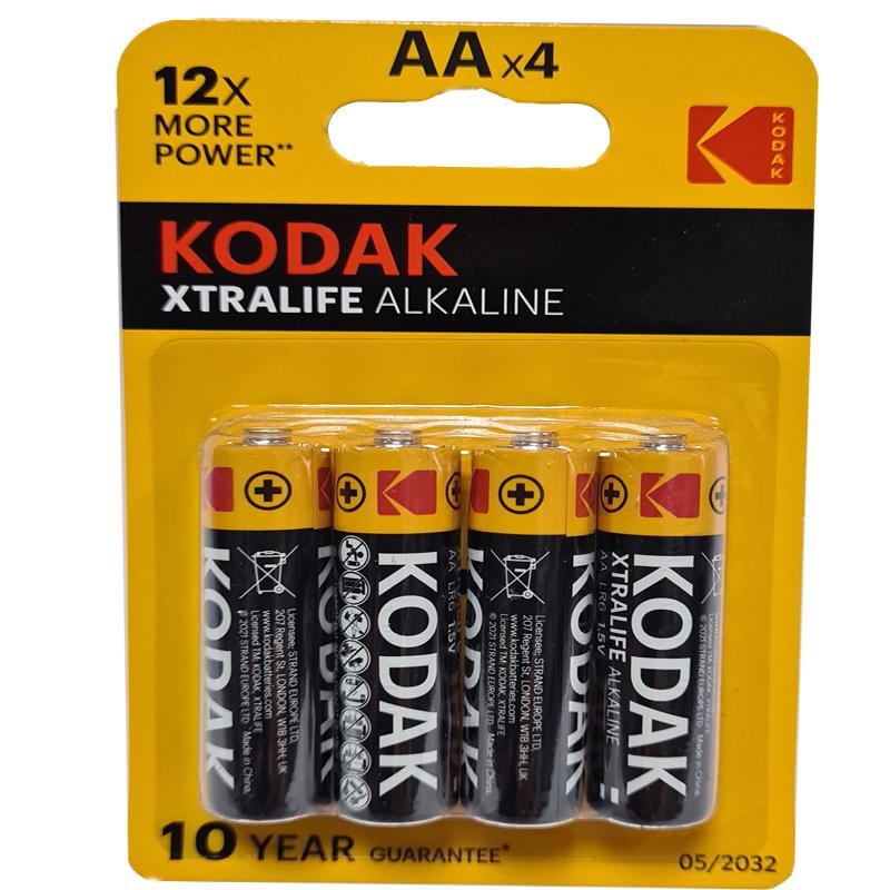 Фото нетБатарейка LR6 Kodak XtraLife блистер по 4шт.