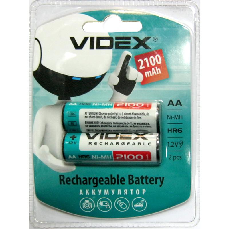 Аккумулятор R6 Videx 2100mAh NiMH