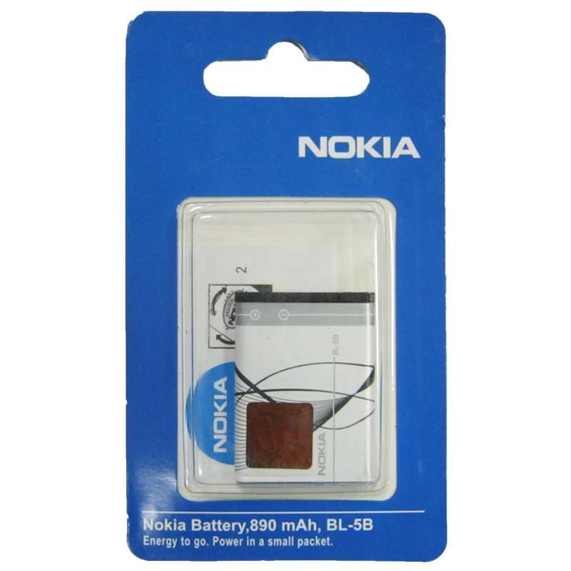 Фото нетАккумулятор для мобильного телефона Nokia BL-5B (Original)
