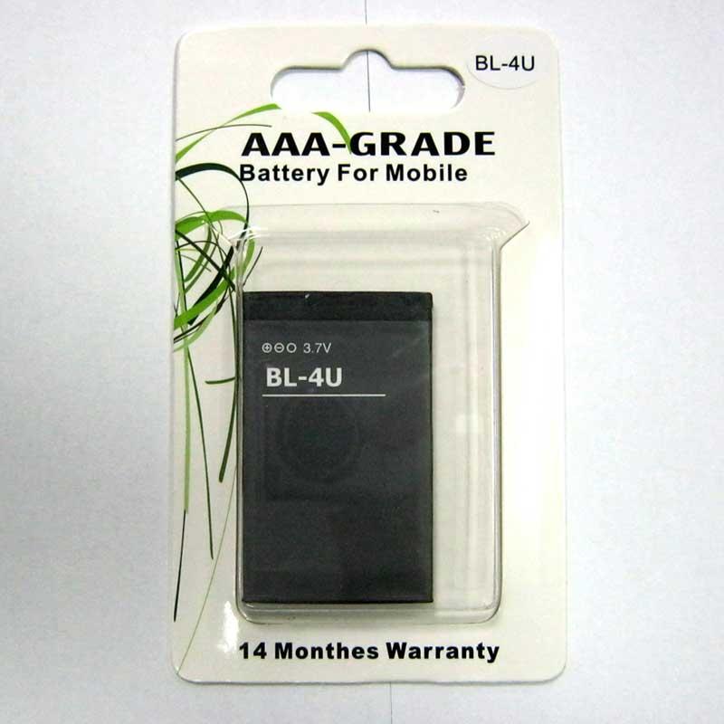 Фото нетАккумулятор для мобильного телефона Nokia BL-4U