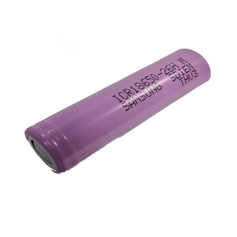 Аккумулятор литиевый 18650 Samsung 2600mAh (ICR18650-26F original) 3.7V Li-ion