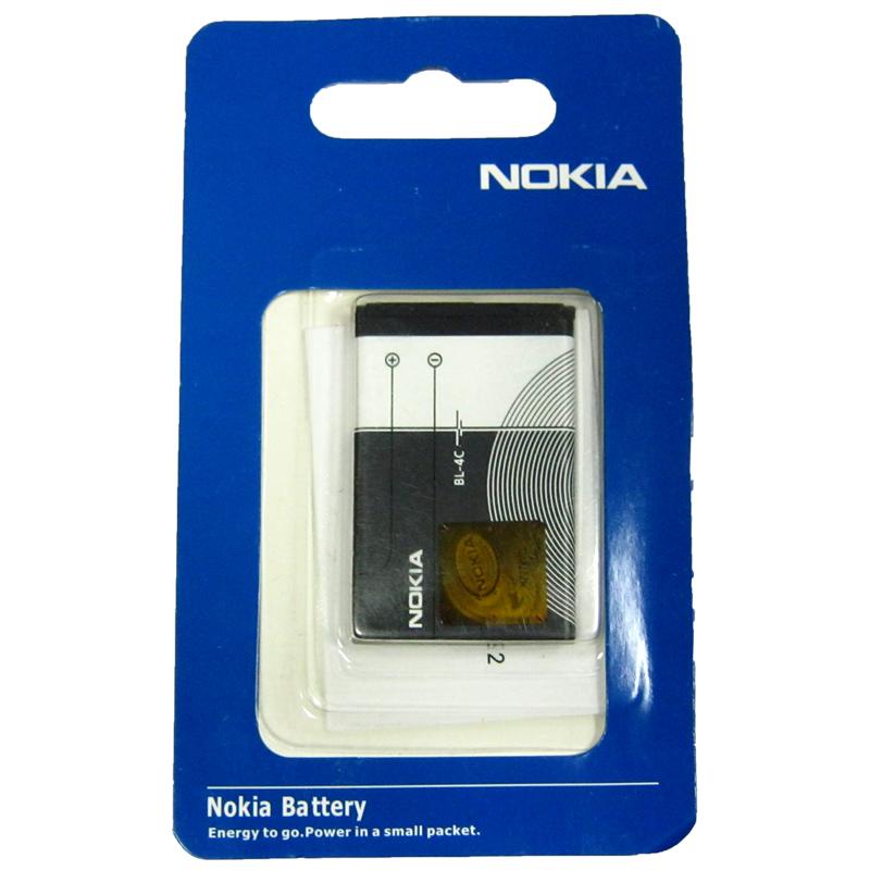 Фото нетАккумулятор для мобильного телефона Nokia BL-4C (Original)