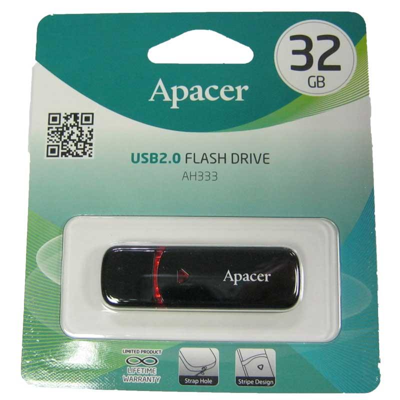 Флешка 32Gb Apacer AH333 Black (Акция!!!)