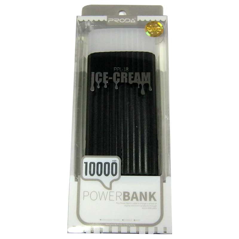 Портативное зарядное устройство Remax Ice Crem PPL-18 (10000mAh) USB(2.1А) Original