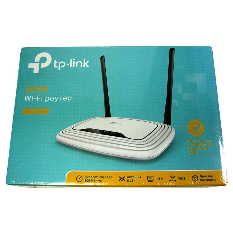 Беспроводный маршрутизатор TP-Link TL-WR841N (Акция!!!) 300M Wireless Lite N Router