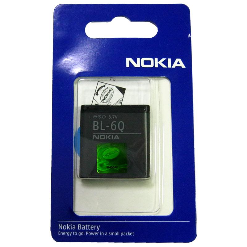 Фото нетАккумулятор для мобильного телефона Nokia BL-6Q(Original)