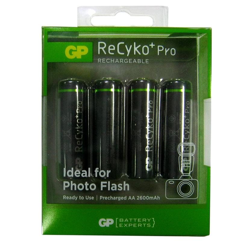 Фото нетАккумулятор R6 GP 2700mA NiMH ReCyko+Pro по 4шт