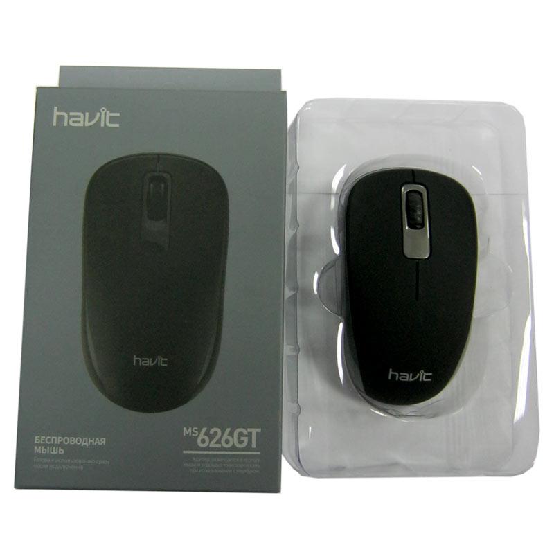 Беспроводная мышка Havit HV-MS626GT grey, USB