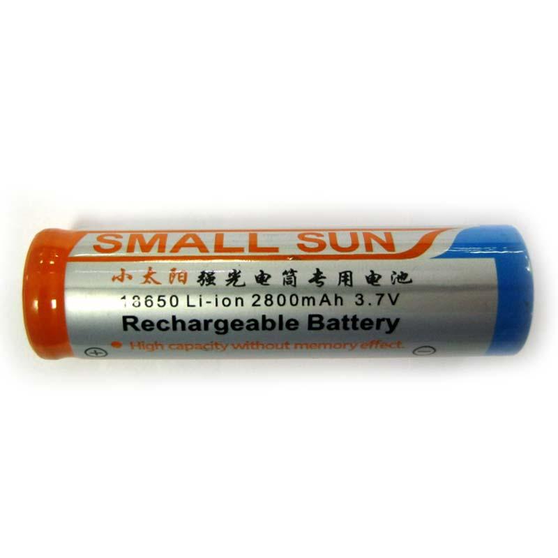 Фото нетАккумулятор литиевый 18650 Small Sun 2800mAh 3.7V Li-ion