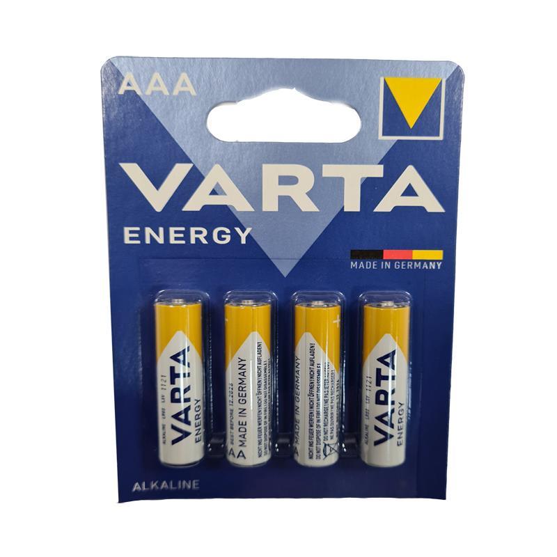 Батарейка LR03 Varta ENERGY,блистер по 4шт