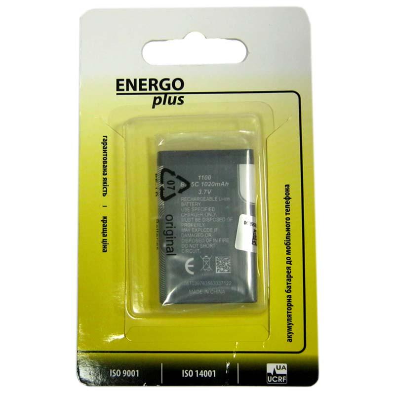 Фото нетАккумулятор для мобильного телефона Nokia BL-5C (Energo)