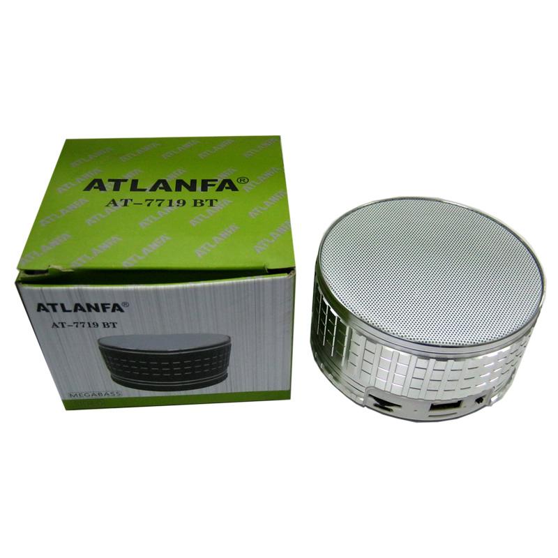 Портативная колонка Bluetooth Atlanfa AT-7719 BT (аккумулятор,FM+USB+SD)