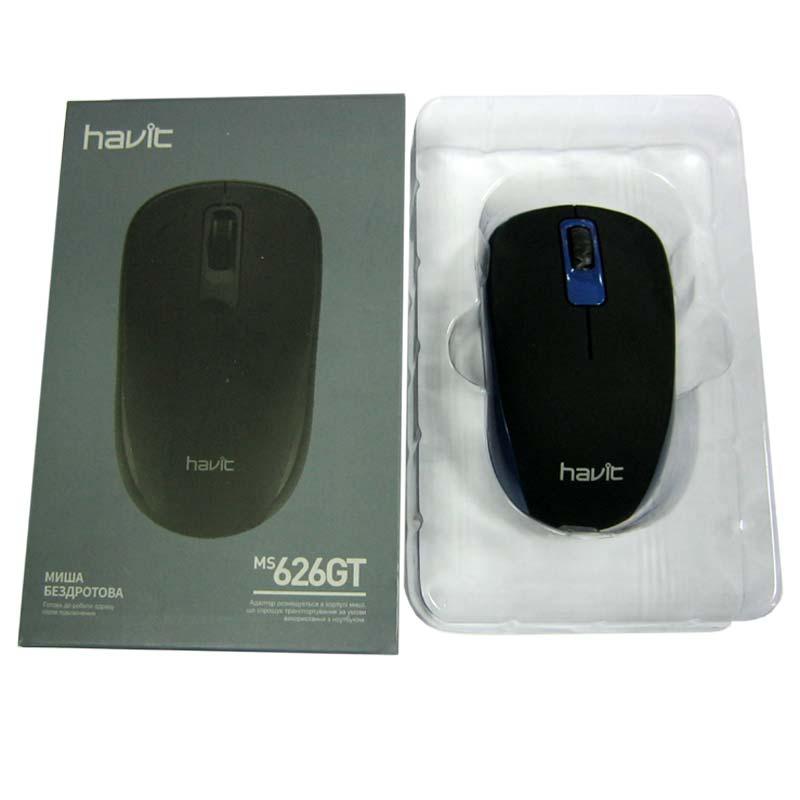 Беспроводная мышка Havit HV-MS626GT blue, USB