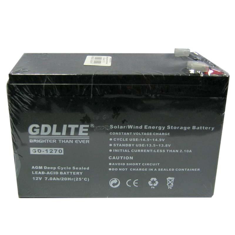 Аккумулятор свинцово-кислотный GDLite 12-7,0 (12V,7,0Ah)