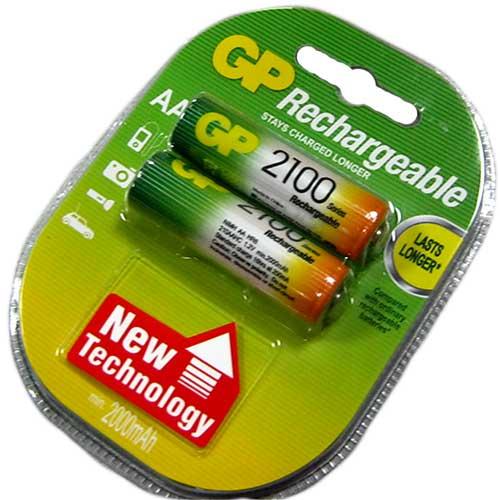 Аккумулятор R6 GP 2100mAh NiMH