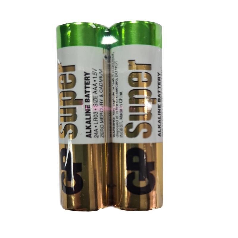 Батарейка LR03 GP (24A-S2) super trey(по 2шт.)