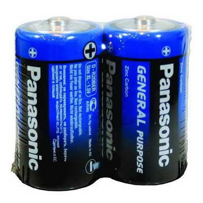 Батарейка R20 Panasonic trey (Польша) синий