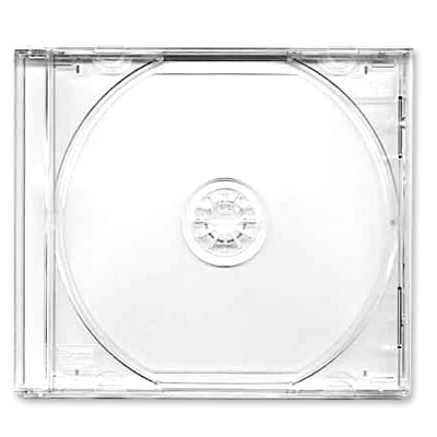 Коробка CD-BOX Jewel clear