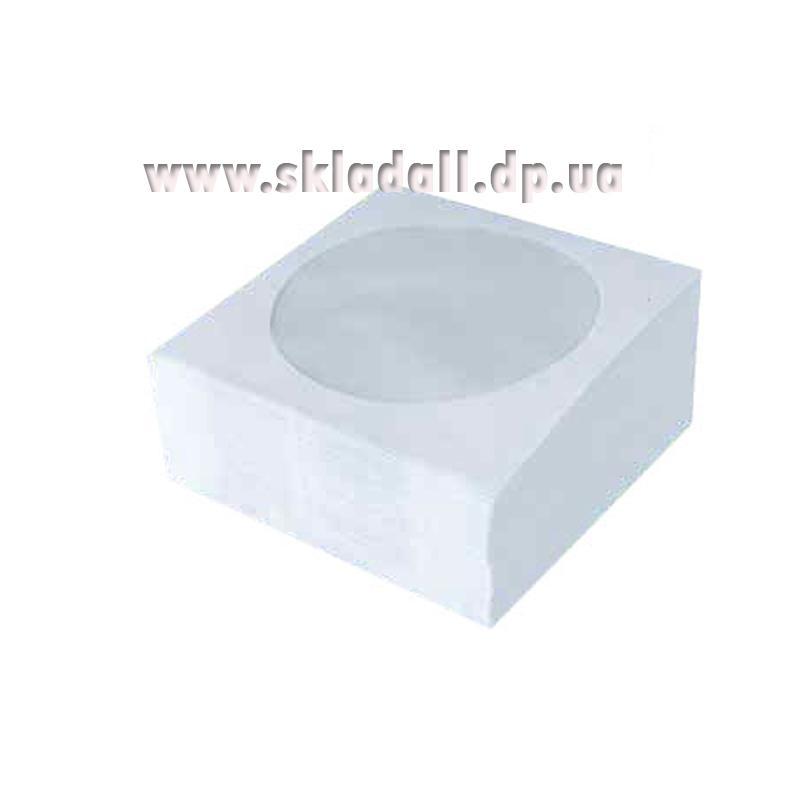 Конверт бумажный с окном для CD 80g/m (100шт)