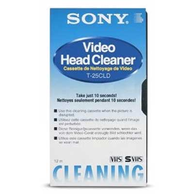 Чистящая видеокассета Sony VHS Clean(Распродажа!!!)