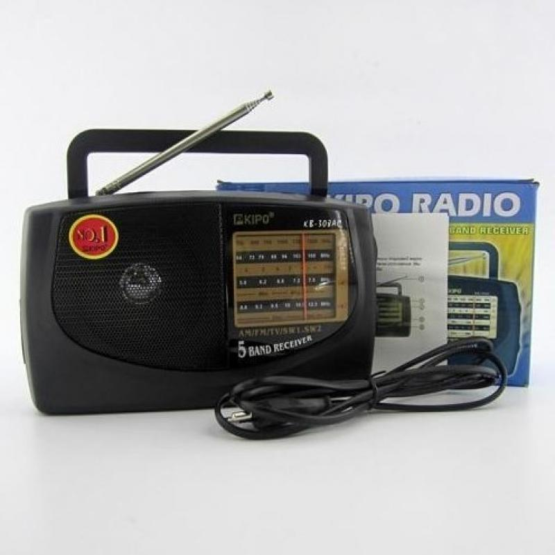 Радиоприёмник Kipo KB-308 (сеть+батарейки)