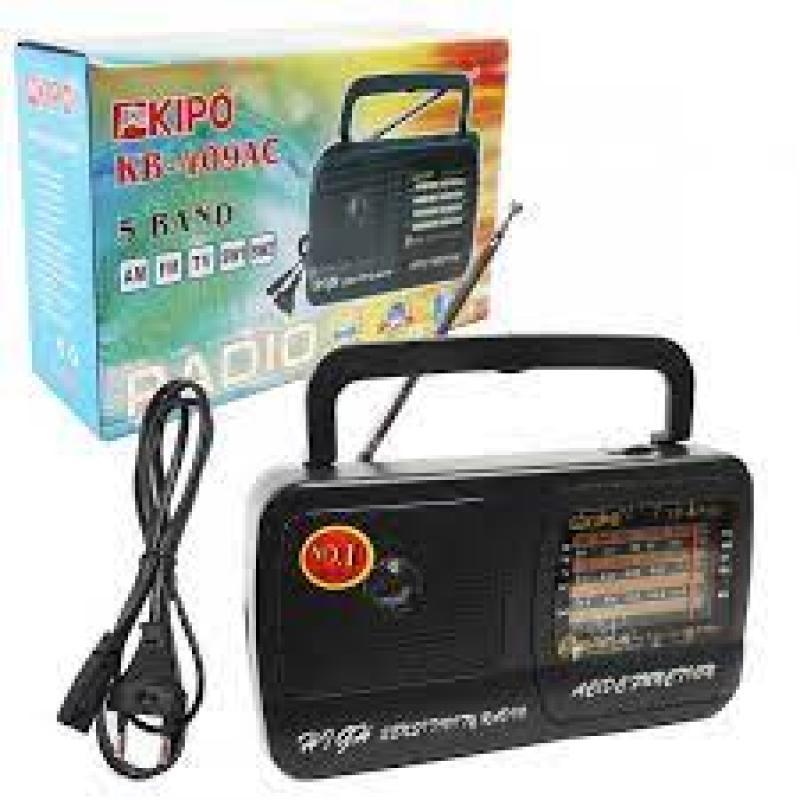 Радиоприёмник Kipo KB-409 (сеть+батарейки)