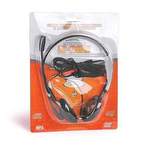 Наушники с микрофоном Gemix HP-100МV