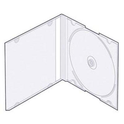 Коробка CD-BOX slim (белая)