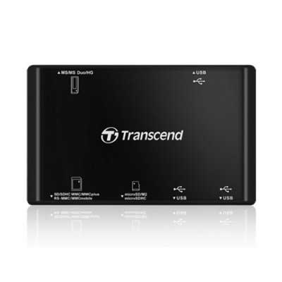 Кардридер Transcend TS-RDP8K All-in-1 (black)