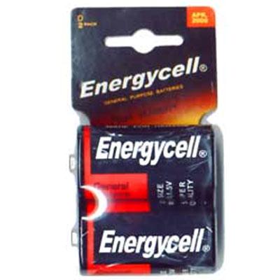 Батарейка R20 Energycell blister