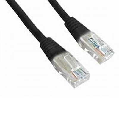 Кабель для компьютерных сетей 1м Gembird PP12-1M/BK Patch (comp-switch)Black