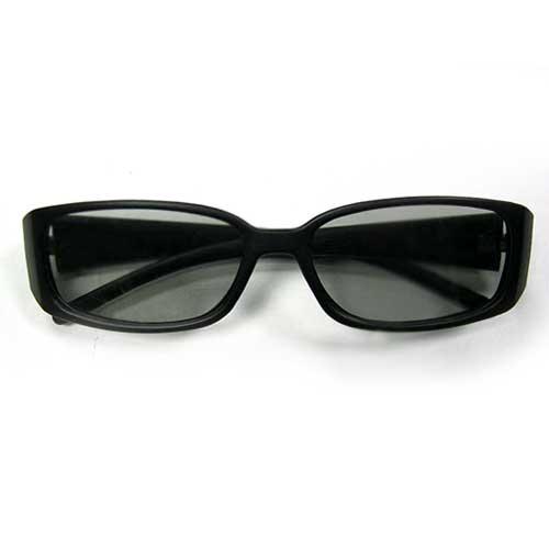 3D Очки оправа пластик (стекло круг.пол.) GL0002(Распродажа!!!)