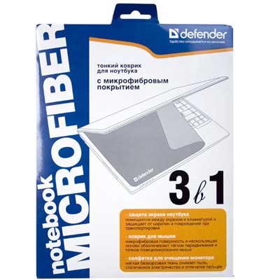 Коврик Defender коврик тканевый Notebook microfiber