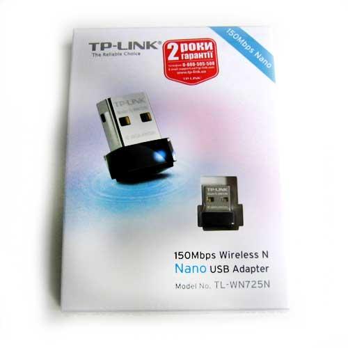 Беспроводный адаптер TP-Link TL-WN722N 150Mbps Wireless USB adapter