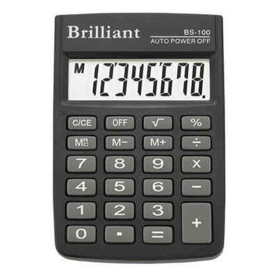 Калькулятор Brilliant BS-100 8 разрядный