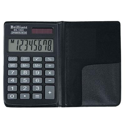 Калькулятор Brilliant BS-100Х 8 разрядный