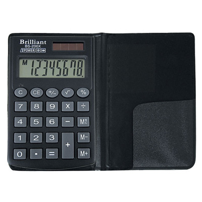 Калькулятор Brilliant BS-200Х 8 разрядный