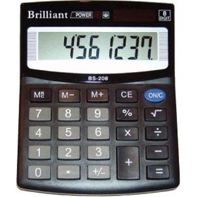 Калькулятор Brilliant BS-208 8 разрядный