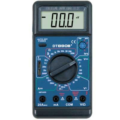 Мультиметр цифровой DT-890B